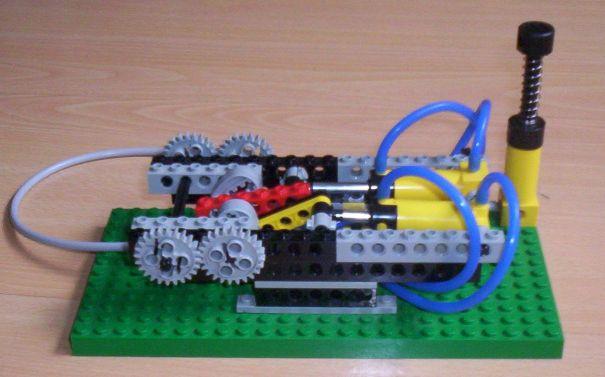 lego pneumatic engine instructions
